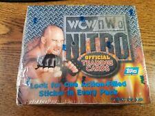 1999 Topps WCW NWO Nitro Wrestling Factory Sealed Box - 24 Packs