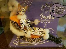 2003 Lounge Kitties WHITE TIGER Barbie Mattel NRFB Barbie Collectors C2478 New