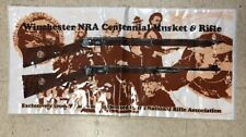 WINCHESTER 1971 NRA CENTENNIAL Lever Action  RIFLE STORE COUNTER GUN PAD 2-sided