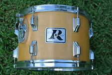 "ADD this RARE 1970's ROGERS USA 13"" NATURAL TOM to YOUR DRUM SET! LOT #E226"