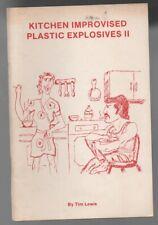 Tim Lewis: Kitchen Improvised Plastic Explosives II Rare