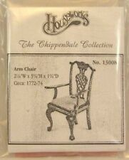 Kit - Arm Chair Chippendale dollhouse furniture Housework 13008 unfinished wood