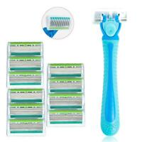 Women Razor Six-layer Blades for Whole Body Hair Removing With 10 Razor DI