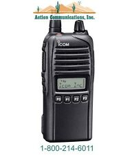 NEW ICOM IC-F4230DS-13, UHF 400-470 MHZ, 4 WATT, 128 CHANNEL TWO WAY RADIO