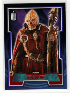 Topps Doctor Who 2015 Red Foil Parallel Base Card #107 Sycorax - 06/50