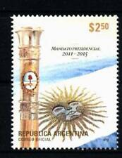 ARGENTINA 2012, NEW PRESIDENTIAL ELECTION FLAG YV 2943 MNH