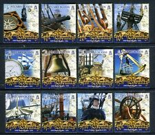 2007 Pitcairn Island Bounty Definitives - Muh Set of 12 Stamps