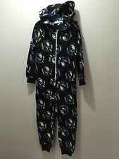 BNWT Boys/Girls Size 4 Official AFL Collingwood Onesie Polar Fleece Sleep Suit