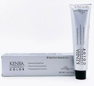 KENRA COLOR Permanent Coloring Creme 3oz / 85g (CHOOSE YOURS) - FREE SHIP!