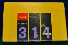 Vintage Kodak Instamatic 314 Color Outfit Box w/ Camera, Instructions & Flash