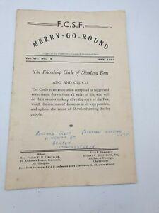 1953 FCSF Merry-Go-Round Friendship Circle Showland Fans Fairground Newsletter