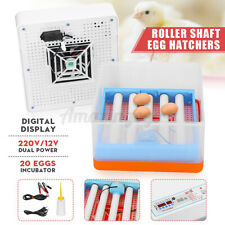 20 Egg Auto-Turning Digital Led Incubator Automatic Hatch Chicken Duck Eggs