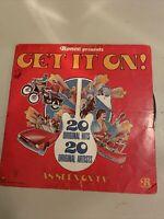 Ronco Presents Get It On!  P-12101 Vinyl LP Record