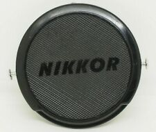 Nikon Nippon Kogaku J.U.M 515,897 Genuine Vintage 52mm Front Lens Cap NIKKOR