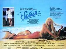 SPLASH Movie POSTER 27x40 UK Tom Hanks Daryl Hannah Eugene Levy John Candy Dody