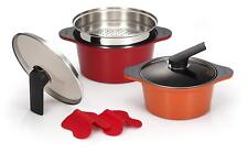 Happycall Hard Anodized Ceramic Nonstick Pot Set Cookware B type Cookware