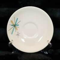 "VTG Mid Century Modern 6"" Atomic Star Burst Salem North Star Saucer"
