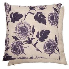 clayre y la FED NUEVO Funda de almohada 45x45cm Shabby Cottage Rosa Púrpura