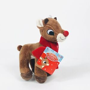"""Ruldolph The Red-Nosed Reindeer Animal Adventure 7"""" Stuffed Toy - Rudolph"""