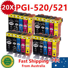 20X Ink Cartridge PGI520 CLI521 For Canon MP550 MP560 MP620 MP630MP640MX870MX860
