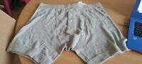 Calvin Klein - Grey Button Boxer Shorts. Size S