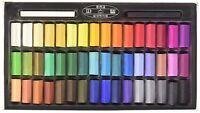 Mungyo Non Toxic Pastel Soft Drawing Art Set 48 Colors Set Square Chalk