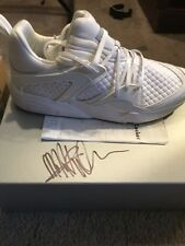 Autographed Meek Mill Dreamchasers Blaze of Glory Pumas Size 11.5