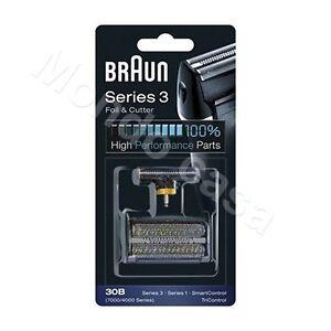 Braun Couteau Tête Lamée 30B Pour Rasoir Serie 1 3 Smartcontrol Tricontrol