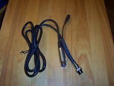 XLR  CABLE TO ELECRAFT,FLEX,KENWOOD,TEN TEC,ICOM,YAESU HF FOR DYNAMIC MICS