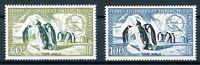 franz. Antarktisgebiete MiNr. 8-9 postfrisch MNH Pinguine (N738