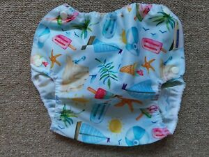 NEW XL Motherease Airflow nappy wrap cover - Just Beachy 🏖️