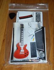 Gibson Les Paul LPJ Case Candy Manual Warranty Wrench Guitar Parts Red G Force
