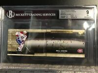 2014-15 UD Premier Rinks Of Honor GOLD Auto Booklet Max Pacioretty BGS 9 10 Auto