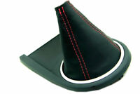 Z32 Red Stitch Made for Nissan 300ZX 90-96 Autoguru Manual Shift Boot Synthetic Leather Black