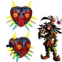The Legend of Zelda Majora Cosplay Mask Game Painted Helmet Adult Costume Props