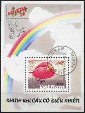 Vietnam stamp 1990 Aviation Airship Zeppelin Dirigible