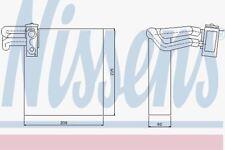 Nissens 92188 evaporador
