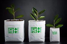 Vaso Pandora's Pot 2L 10x12x30cm 100pz coltivazione indoor plastica pieghevole g