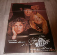 A1-Filmplakat  SHAMPOO,   WARREN BEATTY,JULIE CHRISTIE,GOLDIE HAWN