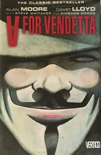 V for Vendetta Alan Moore Paperback and Collector's Edition Movie DVD in Tin