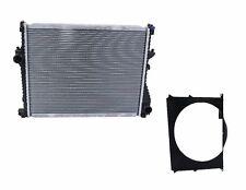 NEW BMW E36 Radiator + Cooling Fan Shroud 17101715319 / 17101715321
