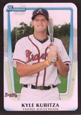 2011 Bowman Draft Prospects #BDPP74 Kyle Kubitza Atlanta Braves