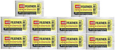 100 Feather Platinum Double Edged Razor Blades