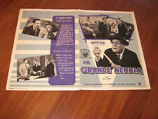 BROCHURE,1953,La grande nebbia The Bigamist,Ida Lupino,Joan Fontaine,E.O'brien