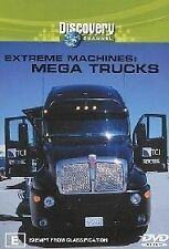 Extreme Machines - Mega Trucks (DVD, 2003) New  Region 4