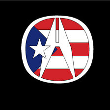 PUERTO RICO CAR DECAL STICKER ACURA  with PUERTO RICAN FLAG #280