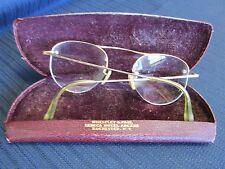 Vintage Eye Glasses Wire Rim 1/10  12k Filled