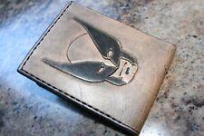 Leather Wallet - Handmade X-Men Wallet - Heavy Duty - Wolverine, Cyclops, USA