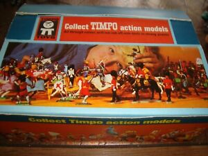 !!! ORIGINAL TIMPO TOYS COLLECTION-BOX IN VERY GOOD CONDITION !!!