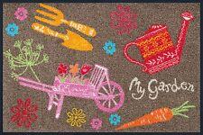 Fußmatte WMK wash + dry Design My Garden 50 x 75 cm Nr. 060215